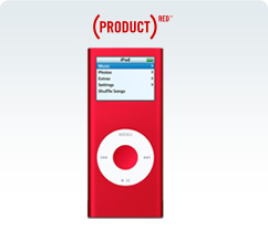 (PRODUCT)RED iPod nano