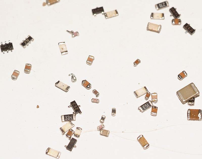Small SMD parts